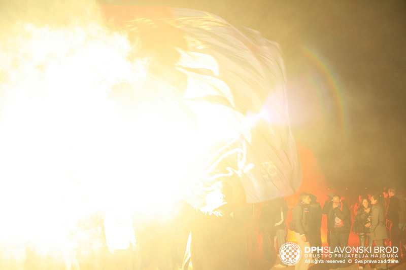 100 godina Hajduka | Slavlje na rivi