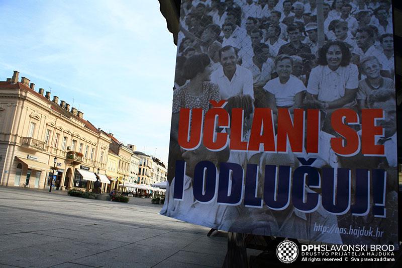Učlanjivanje u Naš Hajduk